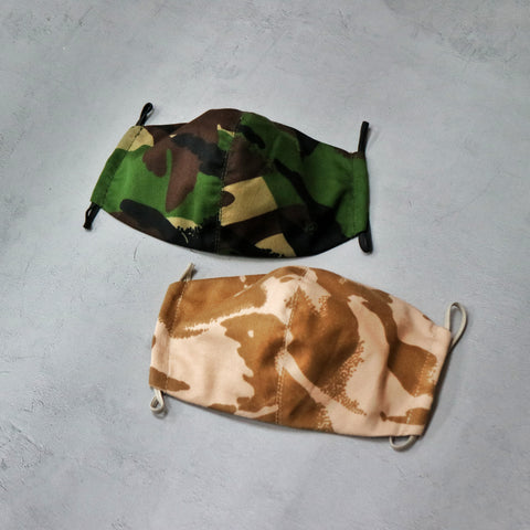Top Gear 英軍迷彩布口罩 UK Reusable Cloth Mask