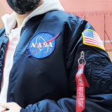 NASA MA-1 FLIGHT JACKET (REPLICA BLUE)