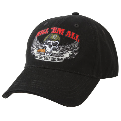 """Kill EM ALL"" 字樣鴨舌帽 Text Cap"