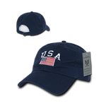 USA Flag Relaxed Graphic Cap