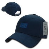 Structured Rubber USA Flag Cap
