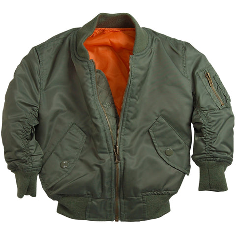 ALPHA MA-1 FLIGHT JACKET YOUTH