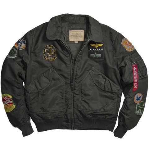 ALPHA CWU 45P PILOT 飛行外套 ALPHA CWU 45P PILOT FLIGHT JACKET
