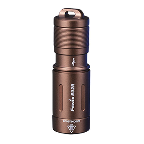Fenix E02R RECHARGEABLE MINI KEYCHAIN LIGHT