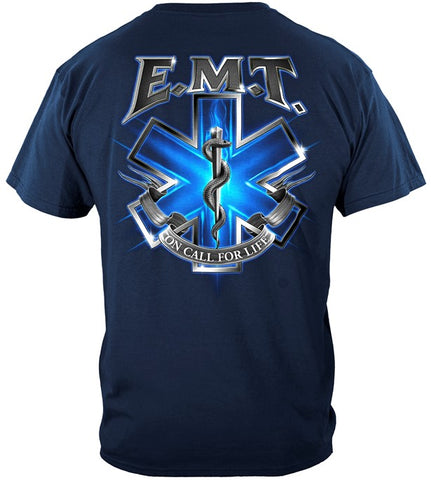 EMT Series T-shirt, On Call for Life (JB16)