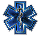 Silver Snake EMT On Call, Reflective Decal