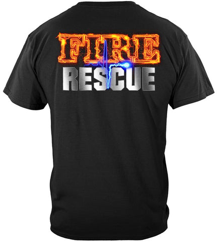Firefighter Series T-shirt, Full Front Maltese (JB50)