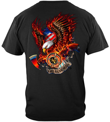Firefighter Series T-shirt, Fire Eagle (JB53)
