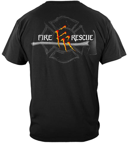Firefighter  Series T-shirt, Monster Claws (JB52)