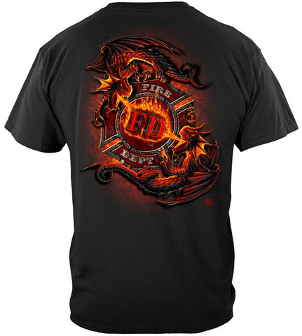 Firefighter Series T-shirt, Rire Drogan (JB61)