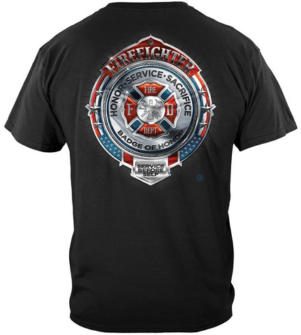 Firefighter Series T-shirt, Sacrifice Honor (JB56)