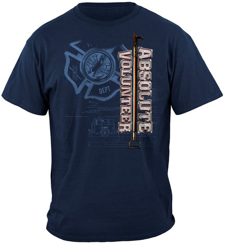 EMT Series T-shirt, EMT Absolute Volunteer (JB42)