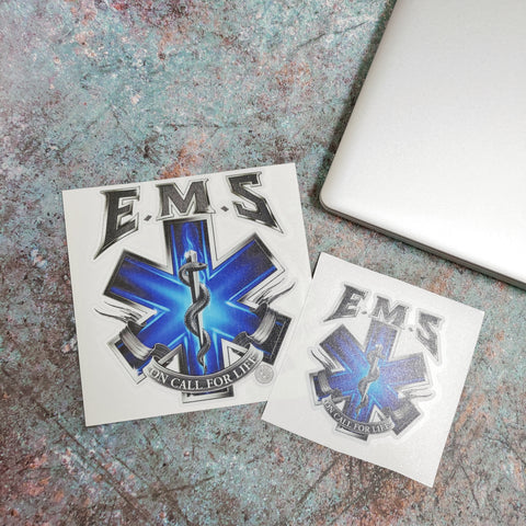 On Call For Life EMS, Reflective Decal