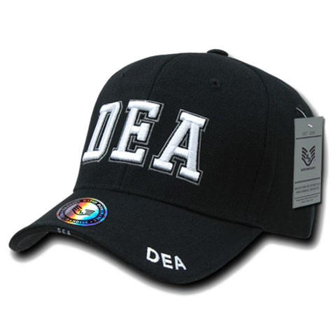 US DEA Embroidered Cap