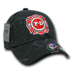 US F-D Embroidery Cap with shadow effect