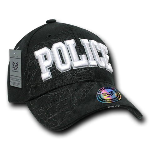US POLICE Embroidery Cap with shadow effect