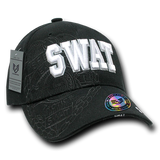 SWAT字樣鴨舌帽 (暗花) SWAT Text Cap (with Shadow)