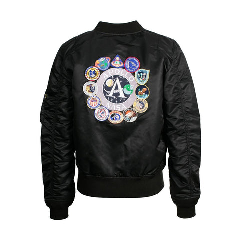 ALPHA L-2B APOLLO FLIGHT JACKET (BLACK)