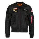 ALPHA L-2B FLEX FLIGHT JACKET (Black)