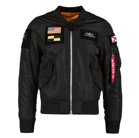 ALPHA L-2B FLEX 飛行外套 (黑色) ALPHA L-2B FLEX FLIGHT JACKET (Black)