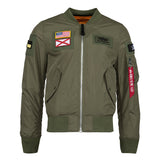 ALPHA L-2B FLEX FLIGHT JACKET (SAGE)