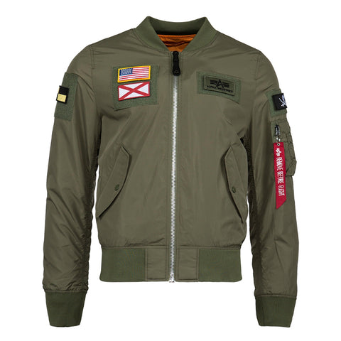 ALPHA L-2B FLEX 飛行外套 (綠色) ALPHA L-2B FLEX FLIGHT JACKET (SAGE)