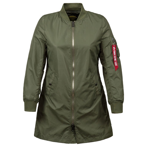 ALPHA L-2B LONG W FLIGHT JACKET