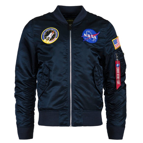 ALPHA L-2B NASA 飛行外套 (藍色) ALPHA L-2B NASA FLIGHT JACKET (BLUE)