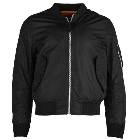 ALPHA L-2B SCOUT W FLIGHT JACKET (BLACK)