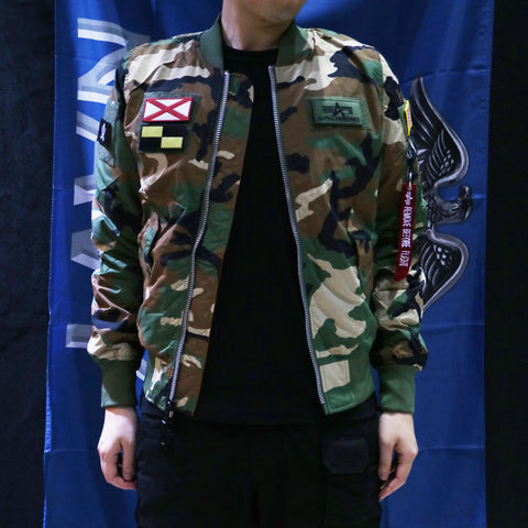 ALPHA L-2B FLEX 飛行外套 (迷彩) ALPHA L-2B FLEX FLIGHT JACKET (CAMO)