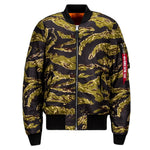 ALPHA MA-1 FLIGHT JACKET SLIM FIT (TIGER CAMO)