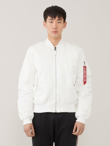 ALPHA MA-1 飛行外套修身版 (白色) ALPHA MA-1 FLIGHT JACKET SLIM FIT (WHITE)
