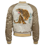 ALPHA MA-1 TIGER SOUVENIR FLIGHT JACKET