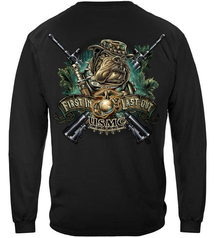 USMC Long Sleeve Shirt (JBLS83)