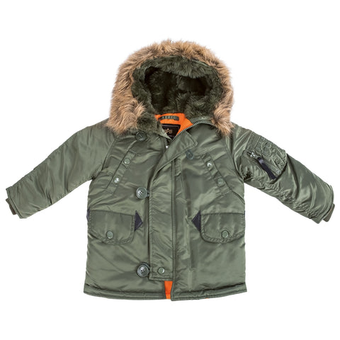 ALPHA N-3B PARKA YOUTH