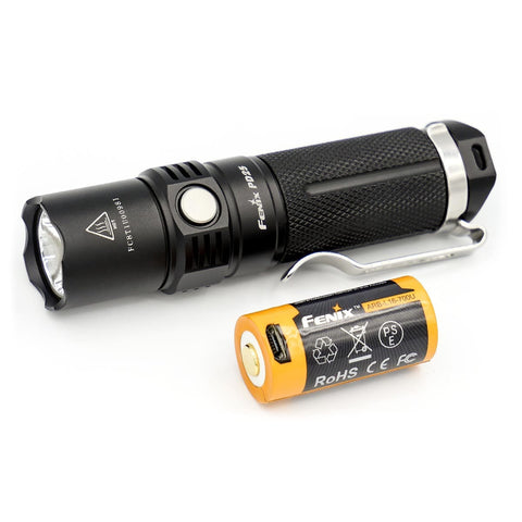 Fenix PD25 Mini Rechareable Flashlight