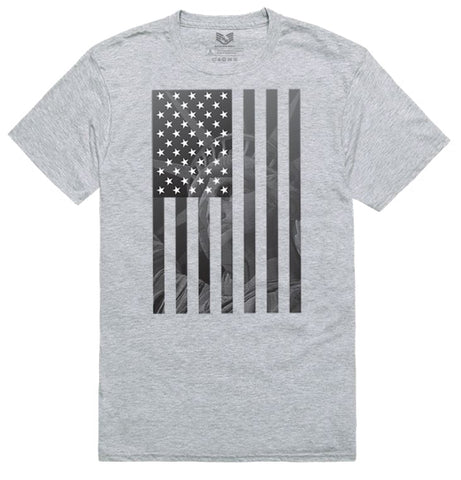 """Liberty"" Grey Graphic T-shirt"