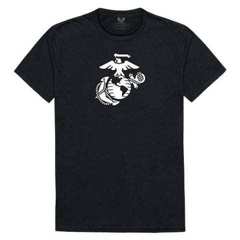 USMC Logo Graphic Tees RDT06