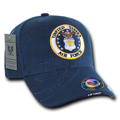 US Airforce Logo Cap with shadow effect