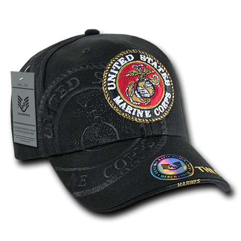 US Marines Corps logo Shadow Cap