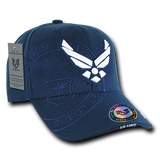 US Airforce Wing logo Cap with shadow effect