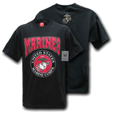 USMC logo graphic T-shirt