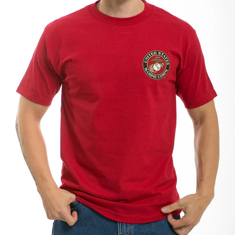 USMC logo Basic T-shirt