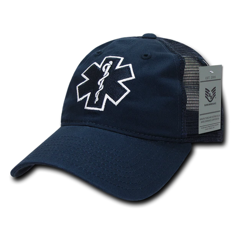EMT Cross Relaxed Trucker Cap