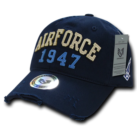 US AIRFORCE 1947 Vintage Athletic Military Cap