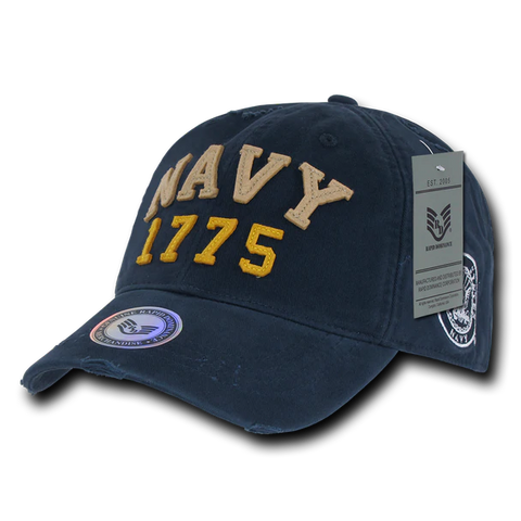 US Navy 1775 Vintage Athletic Cap