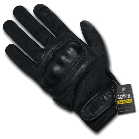 RAPDOM 半指碳纖維硬指關節手套 Half Finger Carbon Fiber Hard Knuckle Glove