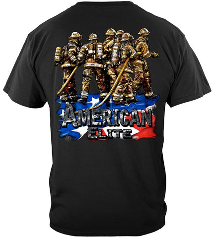 Firefighter Series T-shirt, American Elite (JB55)