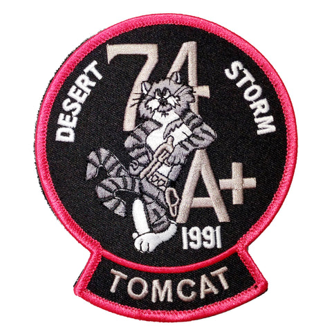 TomCat Velcro Patch 2
