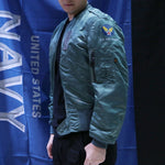 ALPHA USAF L-2B 飛行外套 (湖水藍) ALPHA USAF L-2B FLIGHT JACKET (TURQUOISE)